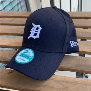 New Era Navy Detroit Tigers 9FORTY Adjustable Hat